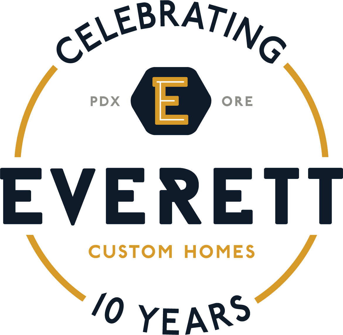 Everett Custom Homes NW logo