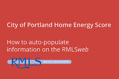 How to Auto-populate HES on RMLS